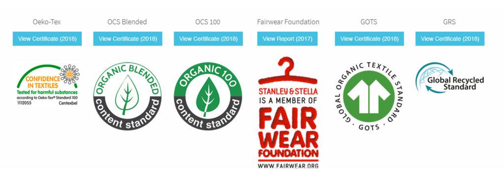 Les certifications Stanley stella