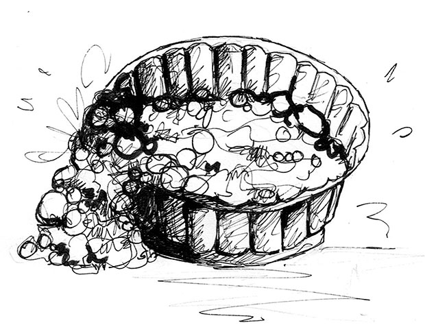 illustration moule à gateau
